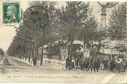 Lille Le Coin Du Moulin Rouge Et L Avenue De L Hippodrome - Lille