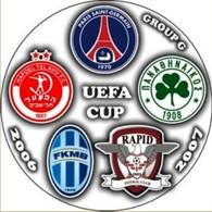 Pin UEFA Cup 2006-2007 Group G Paris Saint-Germain Panathinaikos Athens Rapid Bucuresti Hapoel Tel-Aviv Mlada Boleslav - Calcio