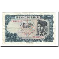 Billet, Espagne, 500 Pesetas, 1971-07-23, KM:153a, TTB - [ 3] 1936-1975: Regime Van Franco