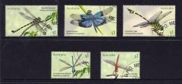 Australia 2017 Dragonflies Set Of 5 CTO - 2010-... Elizabeth II