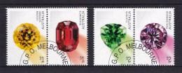 Australia 2017 Rare Beauties - Gemstones Set Of 4 CTO - 2010-... Elizabeth II