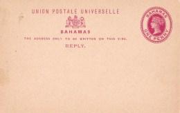 Bahamas 1895 One Penny UPU Mint Post Card - 1859-1963 Crown Colony