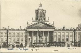 Bruxelles : Place Royale - Marktpleinen, Pleinen