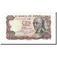 Billet, Espagne, 100 Pesetas, 1970-11-17, KM:152a, NEUF - [ 3] 1936-1975 : Régence De Franco