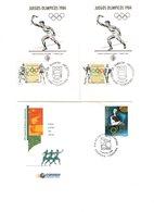 Argentina FDC Giochi Olimpici E Comitato Olimpico - FDC