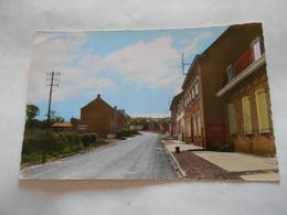 D . 59 - Boeschépe (nord) La Rue De Bailleul Au Fond , Le Sacré Coeur - Andere Gemeenten