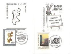 Argentina FDC Pittura E Fondo Nazionale Delle Arti Marcos Borio - FDC