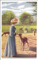 The Favourite - Tuck Oilette 753 - Postcards