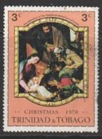 Trinidad & T 1970 Christmas - Paintings Of Old Masters 3c Multicoloured SW 205 O Used - Trinidad & Tobago (1962-...)