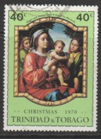 Trinidad & T 1970 Christmas - Paintings Of Old Masters 40c Multicoloured SW 208 O Used - Trinidad & Tobago (1962-...)
