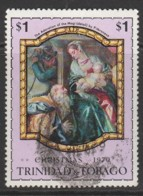 Trinidad & T 1970 Christmas - Paintings Of Old Masters $1 Multicoloured SW 209 O Used - Trinidad & Tobago (1962-...)