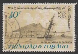 Trinidad & T 1970 The 125th Anniversary Of San Fernando 40c Multicoloured SW 204 O Used - Trinidad & Tobago (1962-...)