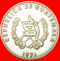 # BIRD (1971-1976): GUATEMALA ★ 25 CENTAVOS 1971! LOW START ★ NO RESERVE! - Guatemala