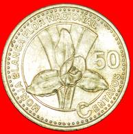 # ORCHID (1998-2007): GUATEMALA ★ 50 CENTAVOS 2007! LOW START ★ NO RESERVE! - Guatemala