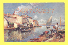 CPA Rive Heureuse ( Julien Gustave Gagliardini ) - Peintures & Tableaux