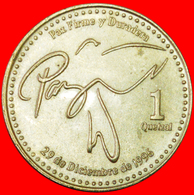 # DOVE (1998-2012): GUATEMALA ★ 1 QUETZAL 2001 MINT LUSTER! LOW START ★ NO RESERVE! - Guatemala