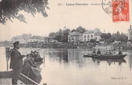 77 LAGNY THORIGNY BORDS DE MARNE / PECHEUR ET BARQUES / 131 EDITION E.R.T - Lagny Sur Marne
