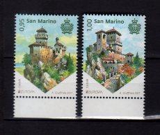 2017 San Marino -- Europa CEPT - Castles - MNH** MiNr. 2707 - 2708 (zz17) - San Marino