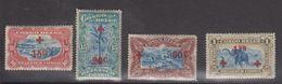 Belgisch Kongo 1918 Rode Kruis 4w ** Mnh (50c Met Plakker Of Vlekje Op Gom) (40007) - 1894-1923 Mols: Postfris