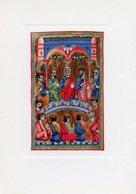 Padova - Santino Cartolina PENTECOSTE Miniatura XIII Secolo, Biblioteca Capitolare - PERFETTO P62 - Religione & Esoterismo