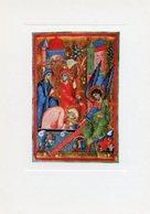 Padova - Santino Cartolina RESURREZIONE Miniatura XIII Secolo, Biblioteca Capitolare - PERFETTO P62 - Religione & Esoterismo
