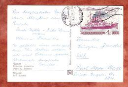 AK Moskau Roter Platz, EF Linienschiff Potemkin, Nach Karl-Marx-Stadt 1973 (55788) - 1923-1991 UdSSR