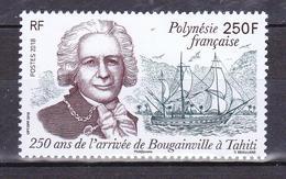 POLYNESIE 2018  250 ANS ARRIVEE DE BOUGAINVILLE MNH** - French Polynesia