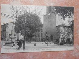 84/ VAUCLUSE / PERTUIS Place Mirabeau (petites Taches Sur Coté Gauche De La Carte ) - Pertuis