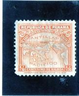 B -  1911 Panama - Mappa - Panama