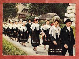 Festzug Im Wolftal, EF Heuss, SoSt Bad Rippoldsau, Nach Duesseldorf 1960 (55790) - Trachten