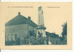 10 - LA VILLENEUVE AU CHENE / MONUMENT AUX MORTS - Frankreich