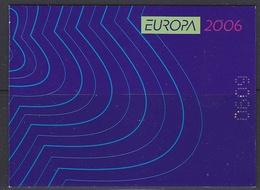 Europa Cept 2006 Bulgaria Booklet ** Mnh (40008) - Europa-CEPT