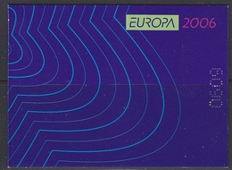 Europa Cept 2006 Bulgaria Booklet ** Mnh (40008) - 2006
