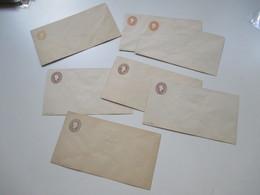 Österreich Lombardei U. Venetien 7 GA Umschläge Neudrucke / ND 1870 U. 1884 KW Je 60€ Insgesamt 420€ Selten Angeboten!!! - 1850-1918 Imperium