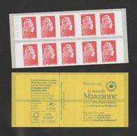 FRANCE / 2018 / Y&T N° AA 28?? ** Ou C???? ** : Marianne De Digan (Carnet Nouvelle Marianne Automate) 10 TVP LP - Neufs - Definitives