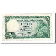 Billet, Espagne, 5 Pesetas, 1954-07-22, KM:146a, SUP - 5 Pesetas