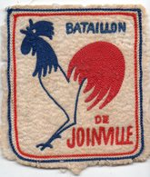 Bataillon De Joinville   écusson Tissus (PPP14352) - Patches
