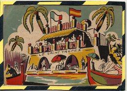 SAN AGUSTIN - PALMA DE MALLORCA - LE SAINT TROPEZ BAR. - Publicité
