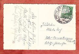 AK Breslau Dom, EF Stadion, SoSt Deutsches Turn- Und Sportfest, Nach Tuebingen 1938 (55792) - Briefe U. Dokumente