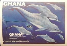 Ghana 1983 Coastal Marine Mammals S/S - Ghana (1957-...)
