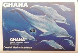 Ghana 1983 Coastal Marine Mammals S/S Imperf. - Ghana (1957-...)