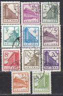 CHINA 1964 - Partie 11 Verschiedene Bauten In Peking  Used - 1949 - ... Volksrepublik