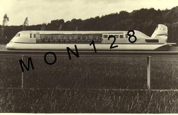 AEROTRAIN BERTIN NAVIPLANE N 102 ORLEANS - PHOTO D'ORIGINE  J. HAVARD JANVIER 1971-DIM 18X12 CMS - Aviation