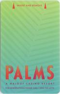 Palms Casino Palms #1 - Room Key - Hotel Keycards
