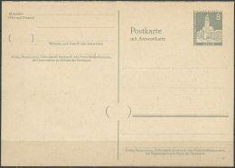 BERLIN 1957 Mi-Nr. P 38 Postkarte Ungelaufen - Postcards - Mint