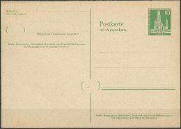 BERLIN 1957 Mi-Nr. P 39 Postkarte Ungelaufen - Postcards - Mint