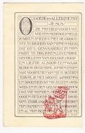 DP Achiel Denys ° Roeselare 1878 † 1933 X H. Xx M. Schelpe / Vlaamse Beweging / Almanak Manneke Uit De Mane - Images Religieuses