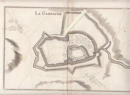 La Garnache Vendée - Carte Ancienne Authentique Du  XVII Ou XVIIIè - Je Pense Un De Fer En Grand Format - Geographical Maps