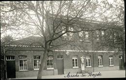 FOTOKAART : Asse Ter Heide : Binnenkoer School - Asse