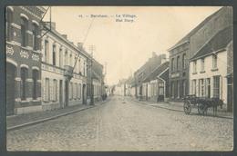 BELGIQUE BORNHEM Le Village Het Dorp Rue Animée Avec Une Charette + Cheval - 13088 - Bornem